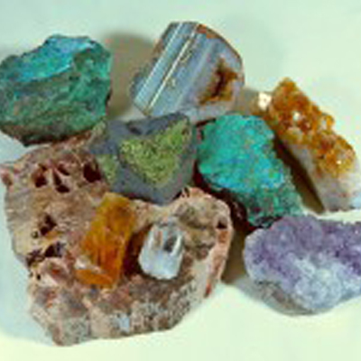 Arizona Polished and Colored Rocks