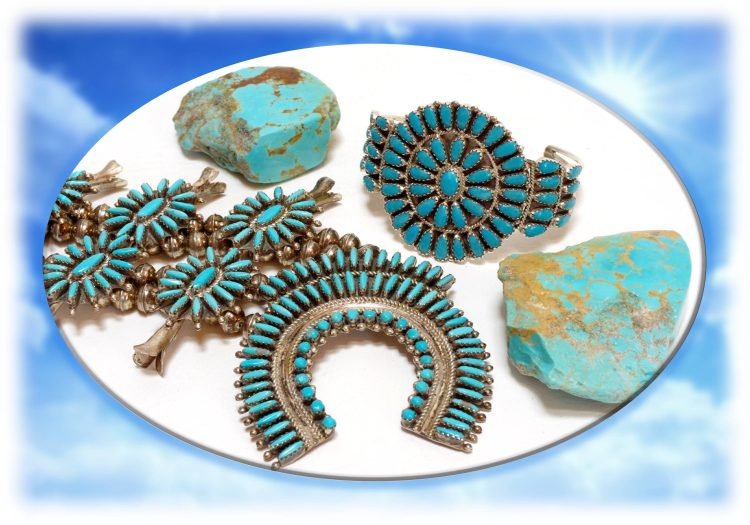 Sleeping Beauty Turquoise Jewelry Assortment
