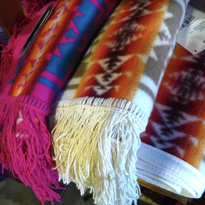 Native American Pendleton Blankets
