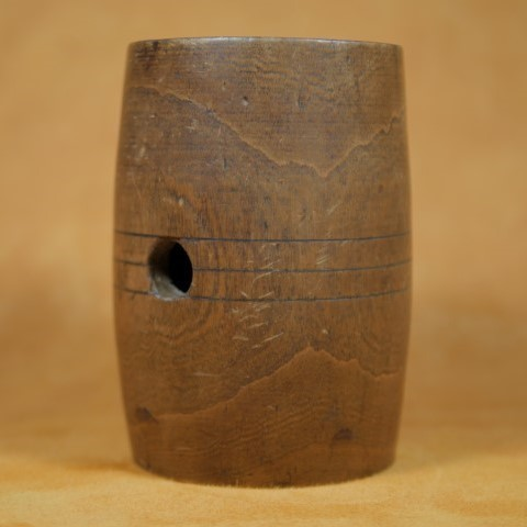 Revolutionary War Era Water Canteen Wood