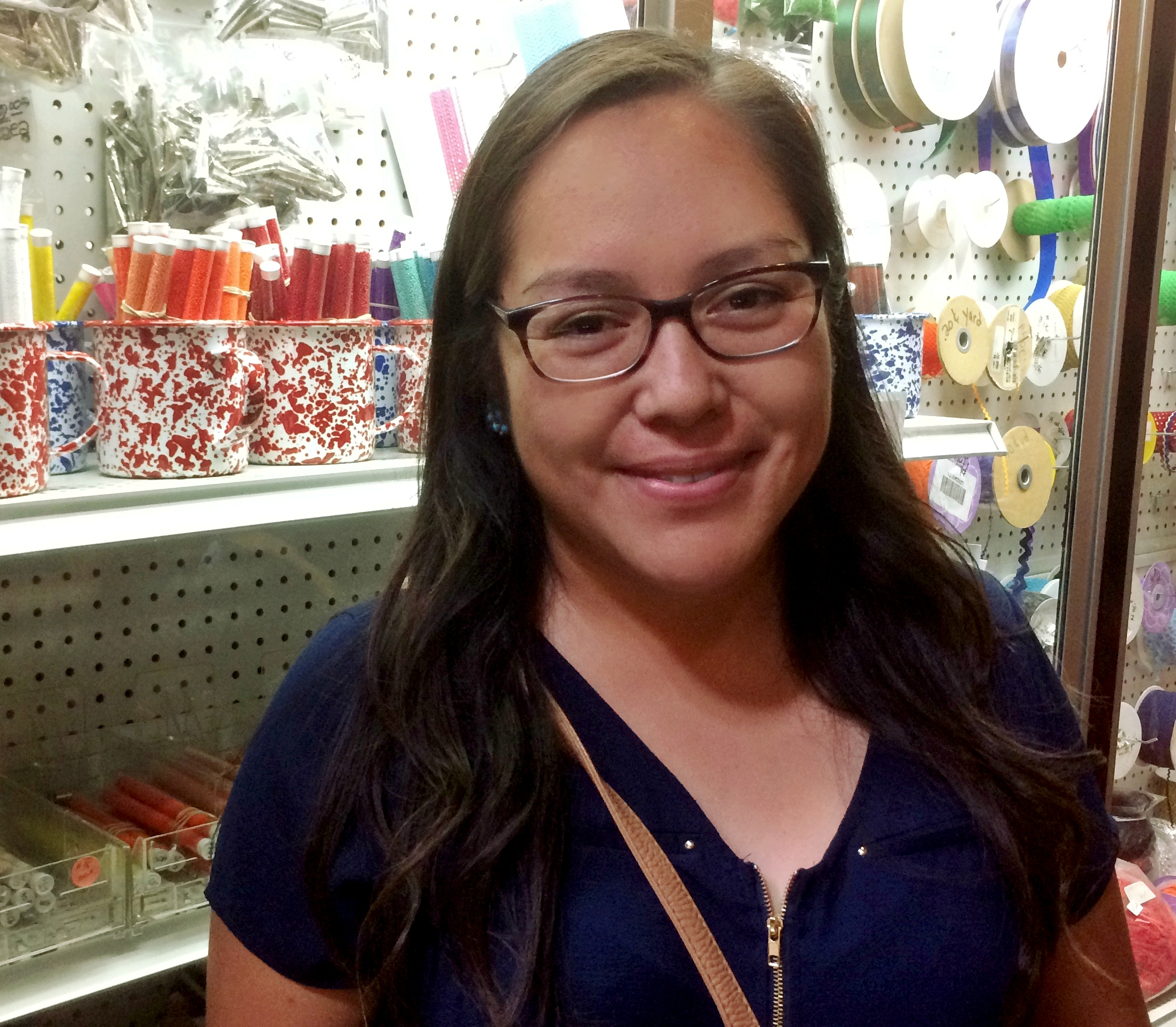 Apache designer Delissa Hooke is known widely for her beading ability.