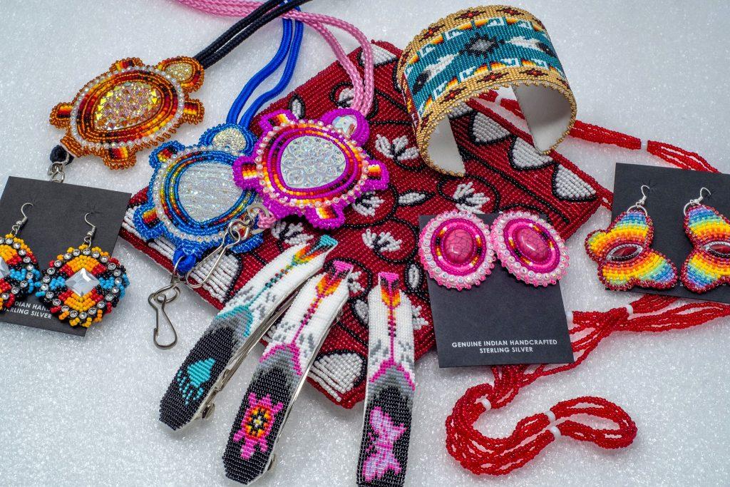Beaded Native American jewelry