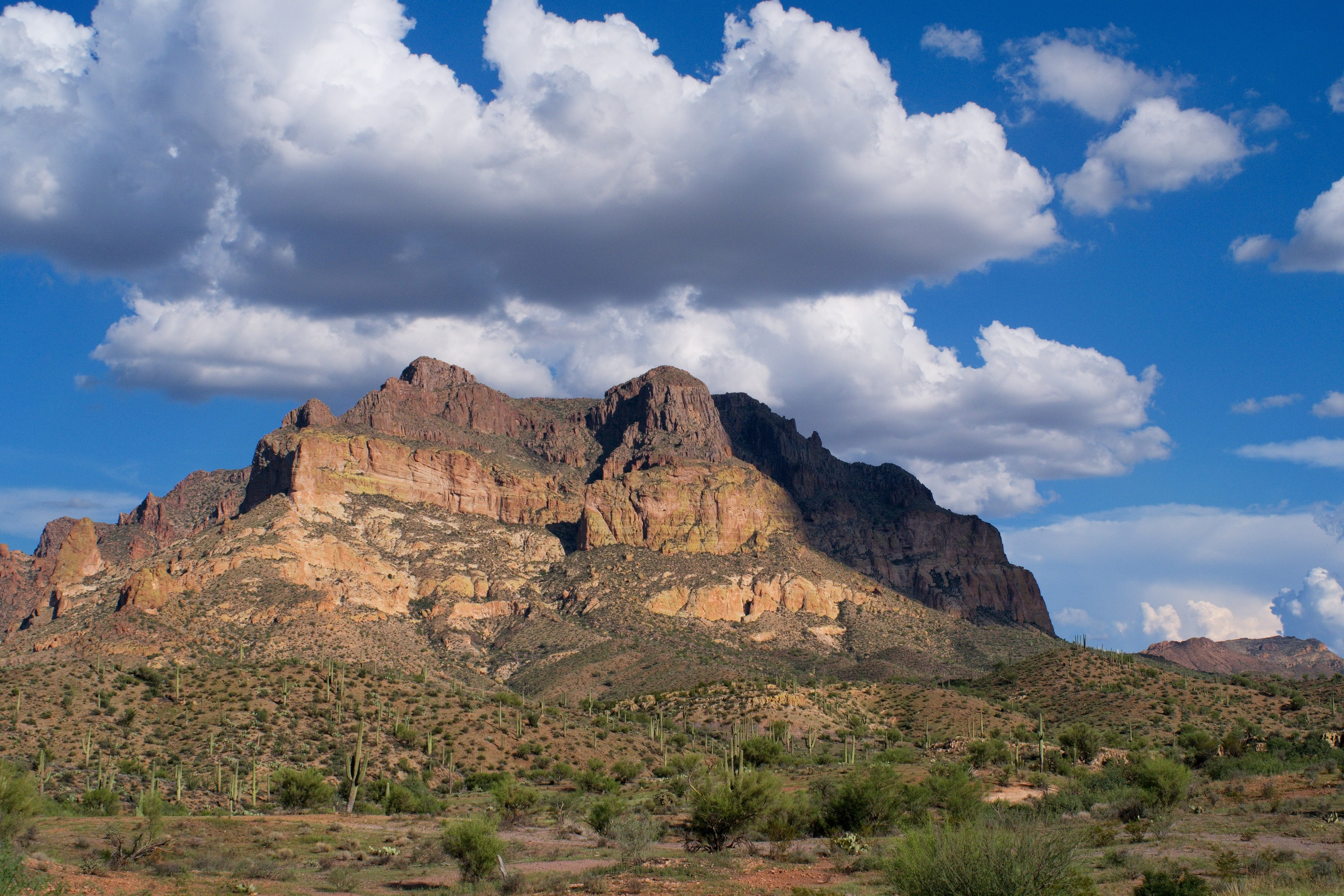 Picketpost Mountain in Superior, Arizona is close to the nationally-known Boyce Thompson Arboretum.