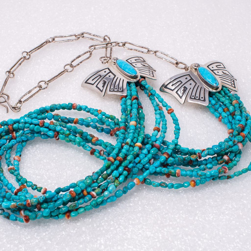 From ancient palaces in far-flung lands to the runways and sound stages of Hollywood and Europe, turquoise jewelry is one of the most coveted adornments on earth.