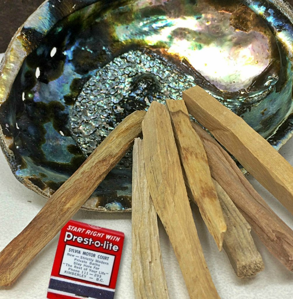 Palo Santo is a popular choice for smudging due to the longevity of the wood sticks.
