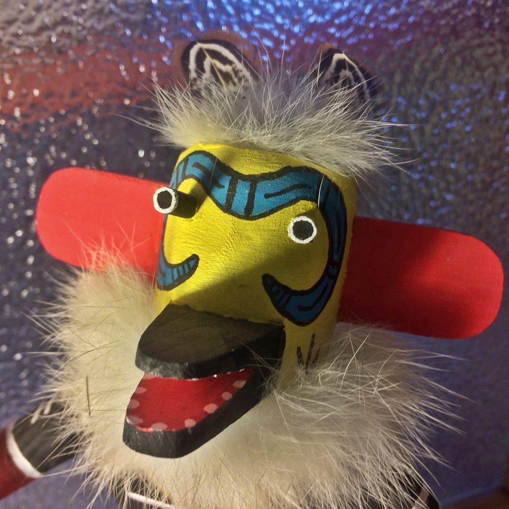 Snake Racer, a Navajo kachina