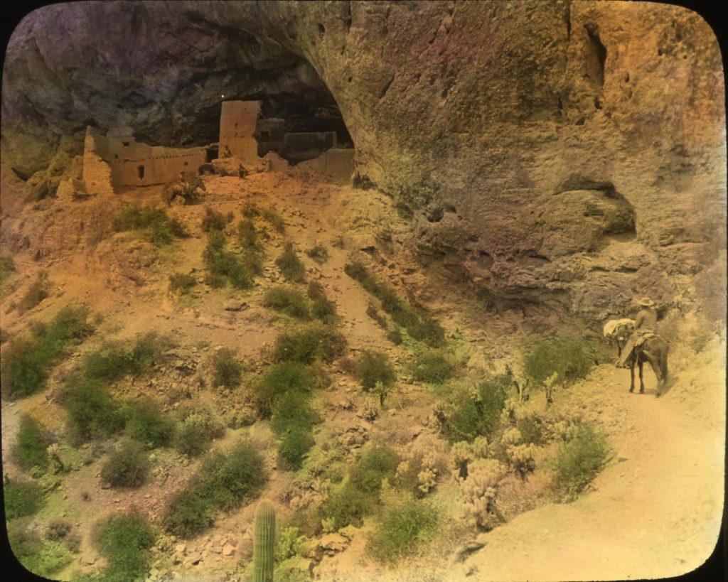 Cliff dwellings of the Salado people in the Tonto National Monument.