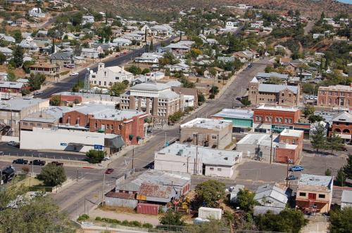 Bird's eye view of Globe, Arizona