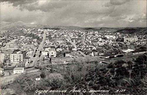 Vintage postcard of Globe, Arizona